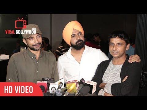 Deepak Dobriyal, Gippy Grewal and Inaamulhaq at Lucknow Central Special Screening