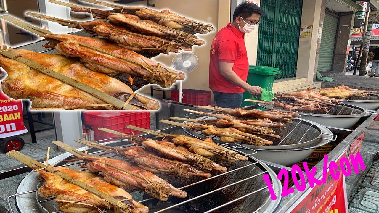 Gà nướng Thái 120k/con, tính bán 10.000 con/ngày, lần đầu có mặt Sài Gòn