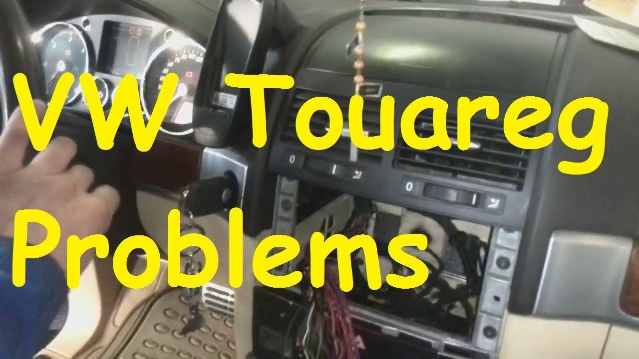 VW Touareg Problems V10 TDI / Fix VW Touareg 2017