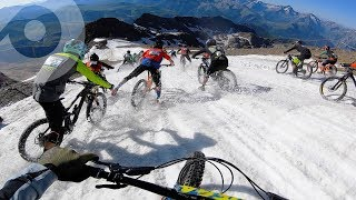 MEGAVALANCHE MADNESS: CRASHES AND BROKEN GEAR | THE CRAZIEST MTB MASS START IN THE WORLD!