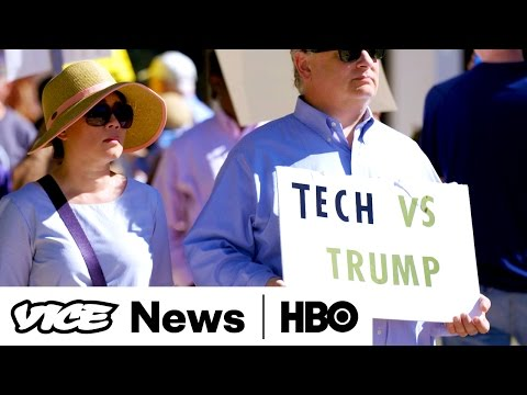 Trump vs Tech & Maple Syrup Mafia: VICE News Tonight Full Episode (HBO)