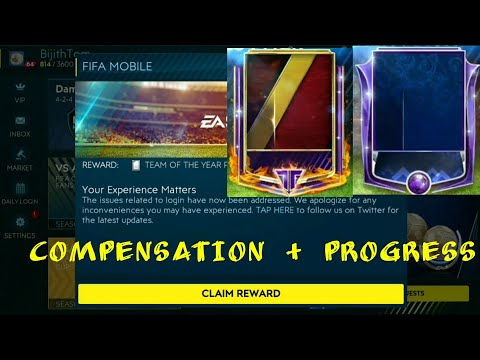 COMPENSATION - ANOTHER TOTY MASTER AND COMPLETING TEAM HEROES EVENT IN FIFA MOBILE 19