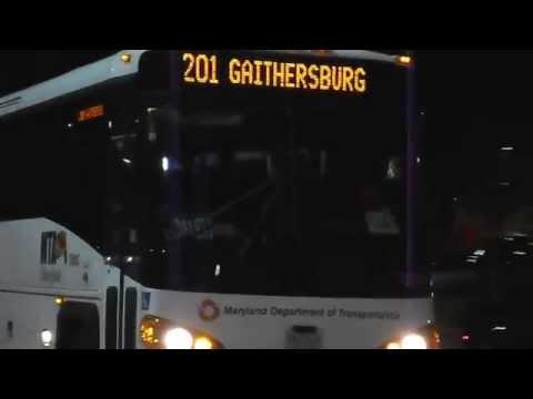 MTA Maryland / Commuter Bus: 2011 MCI D4500CT #180-C @ Arundel Mills Mall/LIVE! Casino