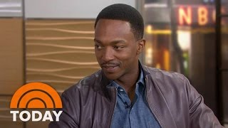Anthony Mackie: I Can Do More Pushups Than Chris Evans | TODAY