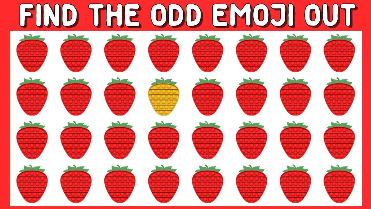 Download HOW GOOD ARE YOUR EYES #181 l Find The Odd Emoji Out l Emoji Puzzle Quiz