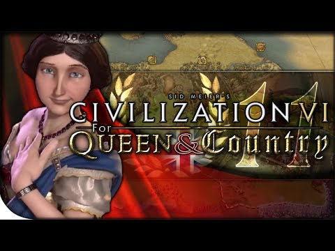 FRANCE ATTACKS | Civilization VI — For Queen & Country 11 | Play Europe Again King