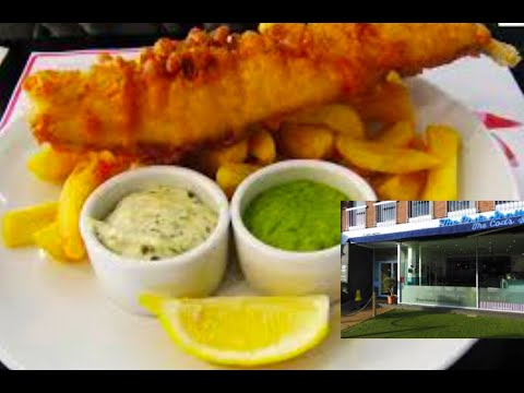 UK's Best Fish And Chips : The Cods Scallops, Nottingham