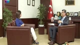 rektr prof dr m hsan karaman show tvde yaynlanan niversite medya programnda