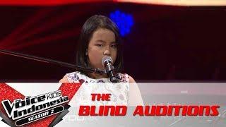 Putri Secret Love Song  The Blind Auditions  The Voice Kids Indonesia Season 2 GTV 2017