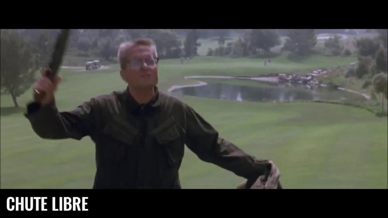 Chute libre - Scène culte – Fusil à pompe au golf