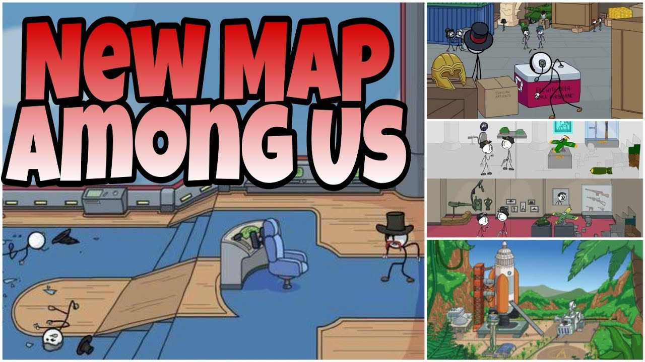 New Map Add Friends And More Upcoming Among Us Updates Youtube