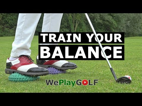 Golf tip: How to get more stability in your golf swing – Golf exercise BALANCE TRAINING