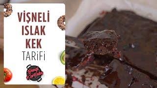 Vişneli Islak Kek Tarifi Bol Çikolatalı Akışkan Kek