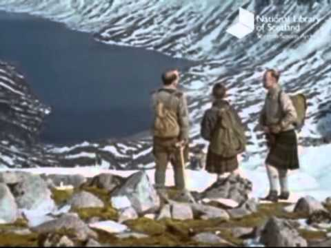 Hiking and Climbing in the Cairngorms circa 1940s