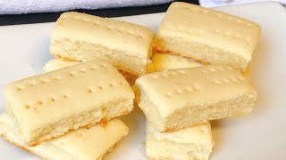 How To Make The Best Ghanaian Shortbread Recipe - The Secret Of Making Flaky Shortbread!