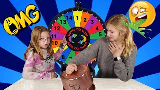 Mystery Wheel Of Fast Food Challenge!!! - Francesca and Leah