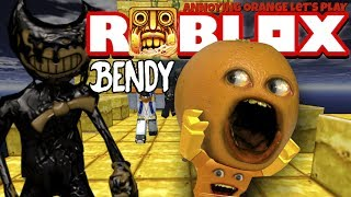 Invitico Orange Plays - ROBLOX: Temple Run 2 - Attacco di Bendy!