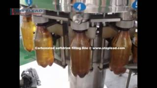 How The Carbonated Soft Drink Filling Machine Running For Filling Csd Beverage