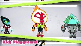Super Slime Ben Kids Game Play - Ben 10 Endless Arcade Climber Cartoon Network