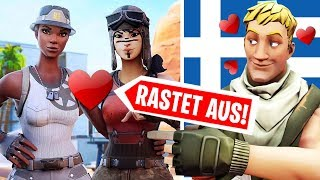 Greek NO SKIN RASTET OFF because of RECON EXPERT in Random Duos..! Fortnite