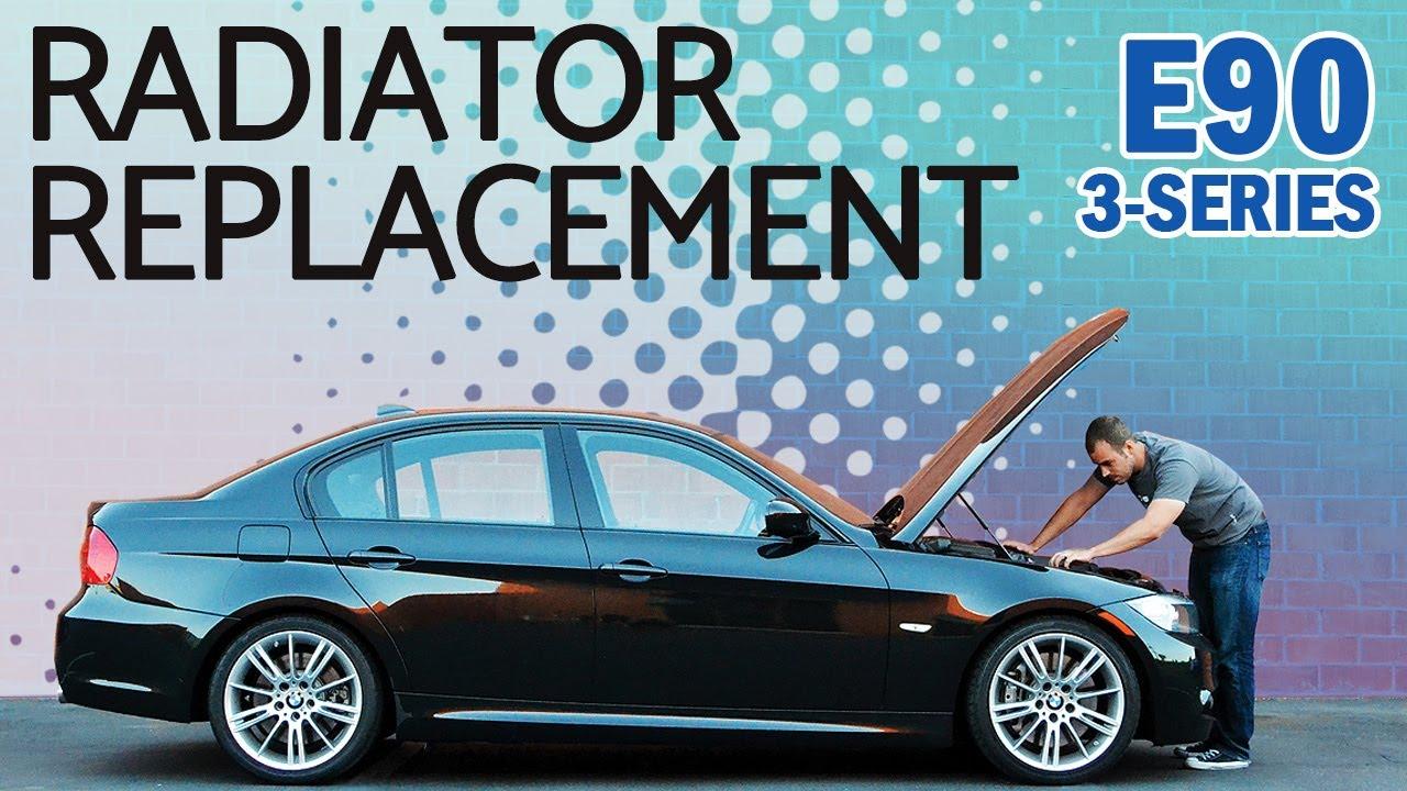 New Radiator Fits 1988 1999 1990 1991 Auto Trans A//T BMW 325 325i 325iX 325is