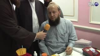 Mustafa Kartal Hoca Kan Bağışında Bulunuyor
