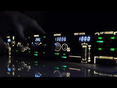 CPFlight MCP 737 PRO Backlight Test - YouTube