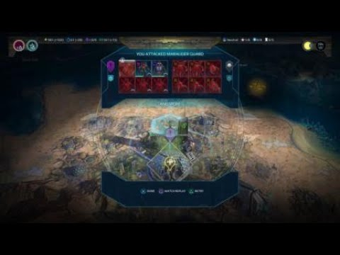 Age of Wonders: Planetfall Bringing down the Plague Lords!  