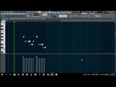 What A Night - Jeremih (FL Studio Remake)