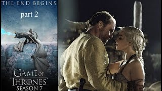 "Daenerys and Jorah Mormont. ""When sins and crimes are forgiven"""