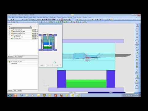 Cimatron E10 Mold & Lifter demo.mp4