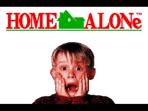 Прохождение игры Один дома (Home alone) NES
