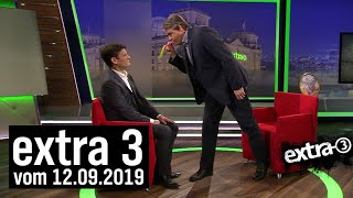 Extra 3 vom 12.09.2019