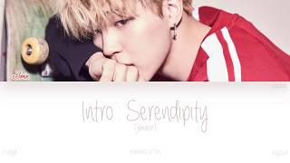 HAN ROM ENG BTS Jimin Intro Serendipity Color Coded