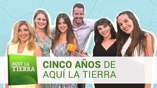 AQUÍ LA TIERRA cumple 5 años | Facebook Live