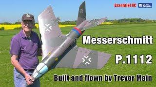 Messerschmitt P.1112 Electric (EDF) RC FIGHTER JET (WWII German prototype)