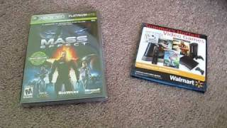 Mass Effect Platinum hits Unboxing ( 2 discs )