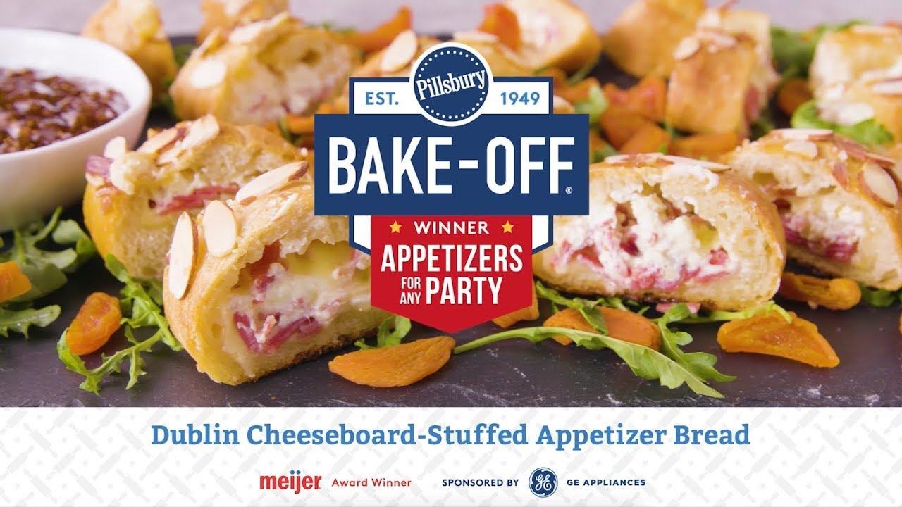 Dublin Cheeseboard Stuffed Appetizer Bread Pillsbury Recipe Youtube
