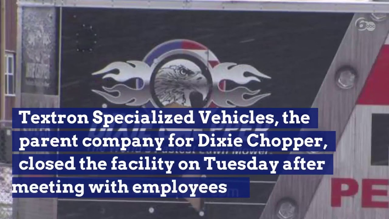 Dixie Chopper closes unexpectedly, leaving more than 100 Hoosiers without  jobs