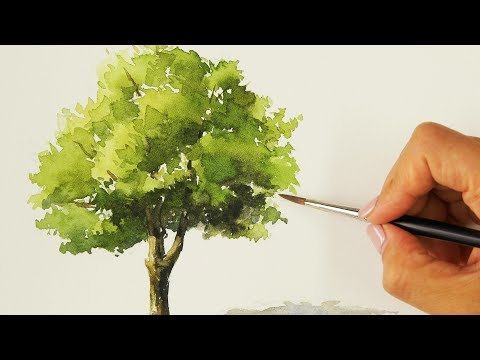 Easy Watercolor Painting