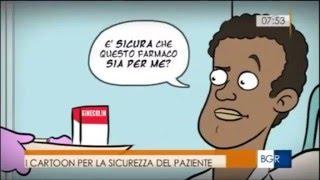 Die cartoon-a ''Buongiorno regione''