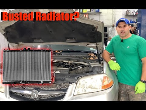 How to change/Replace a radiator on 2003 Acura MDX?