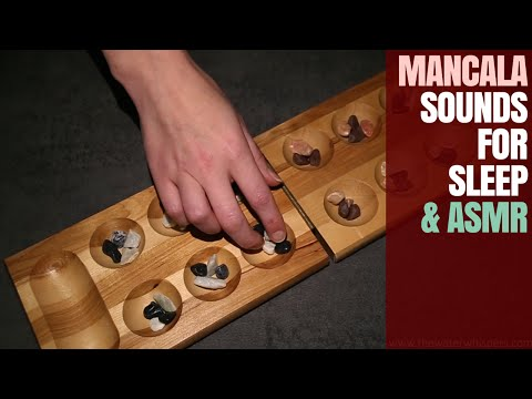 Let's Listen To These ASMR SOUNDS Together ^_^ Exploring The MANCALA Game  With You