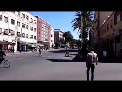 Eritrea 2015/2016 Asmara Teil 2 City walk Hubi und Ralph