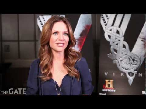 Jessalyn Gilsig  for History's 'Vikings'