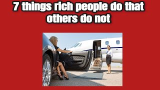 7 things rich people do that keeps them wealthy - Dr Boyce Watkins PhD