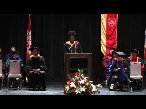 Graduate College of Social Work Convocation 2016 - Guest Speaker April Day