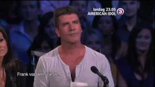American Idol season 9 w Lee Dewyze and Simon Cowell