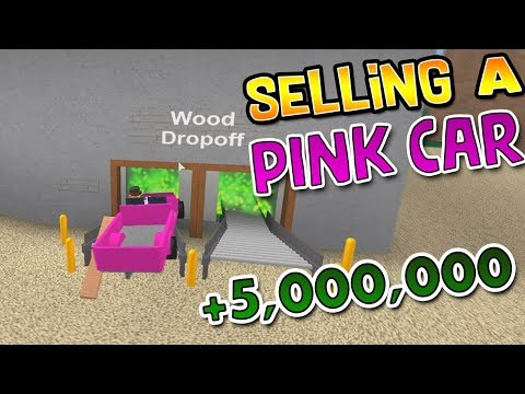 Can You Sell a Pink Car (The Wood Dropoff)!? | Lumber Tycoon 2 ROBLOX