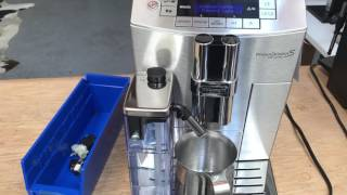 Delonghi Prima Donna Espresso Machine - Milk Frother Test #966
